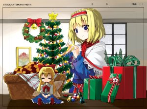christmas-wall2dgirls45
